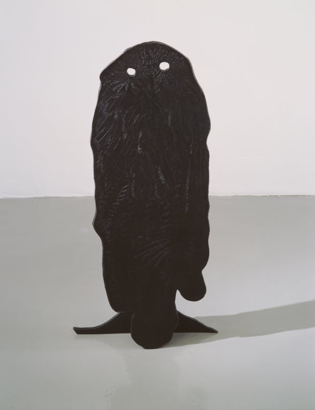 Owl 1998 silicone e bronzo fosforoso Per gentile concessione dell'artista e della Pace Gallery I Owl 1998 silicon and phosphorous bronze Courtesy of the artist and Pace Gallery