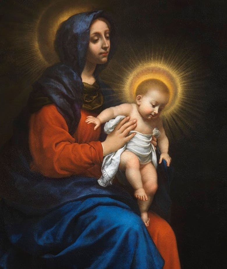 Madonna with Child (or Virgin presenting the Child)
