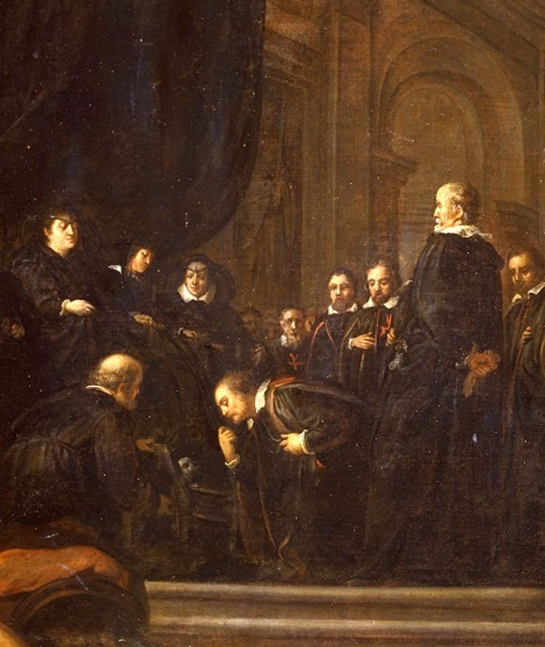 The Senators of Florence swearing Allegiance to Ferdinando II de' Medici