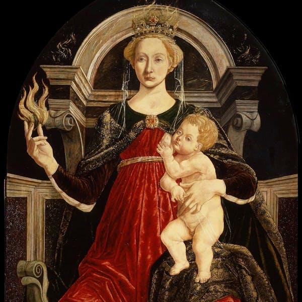 The Charity By Piero Del Pollaiolo Artworks Uffizi