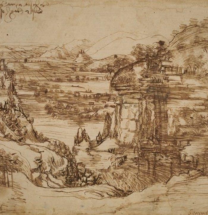 La campagna di indagini dell'Opificio delle Pietre Dure sul primo paesaggio di Leonardo Da Vinci
