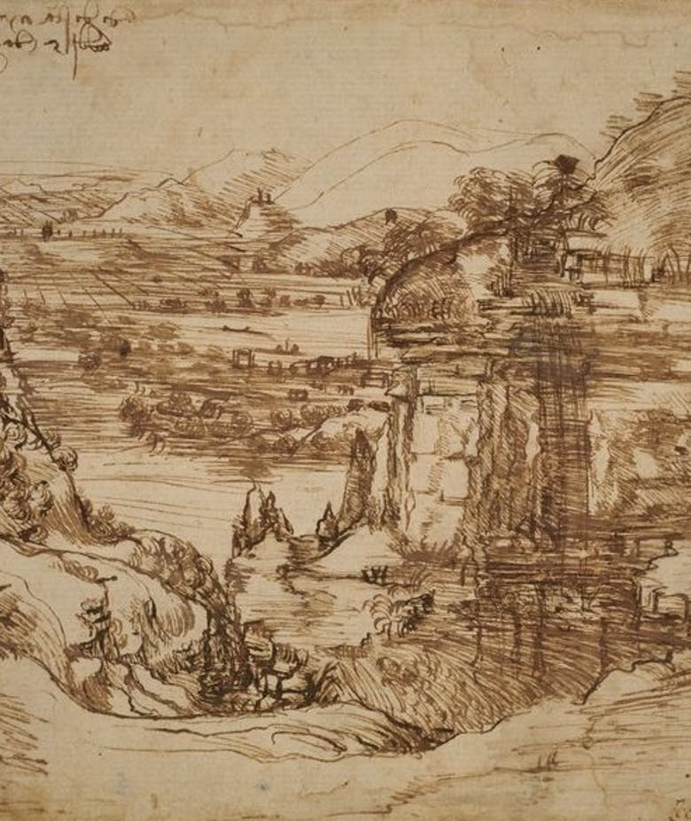 The diagnostic campaign of the Opificio delle Pietre Dure on the first landscape by Leonardo