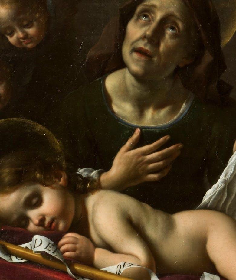 The Sleeping Infant St John