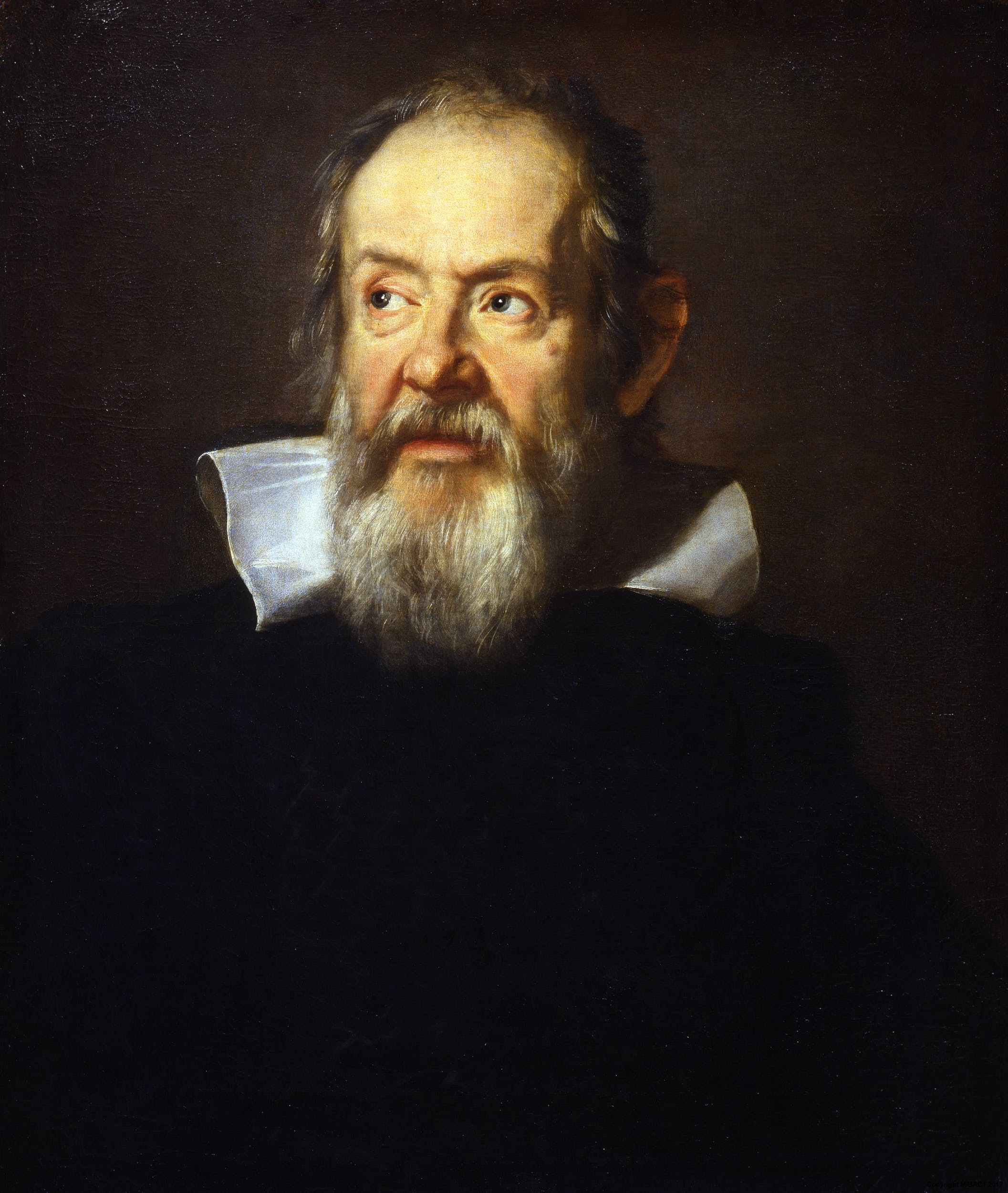 Portrait of Galileo Galilei by Justus Sustermans | Artworks ...