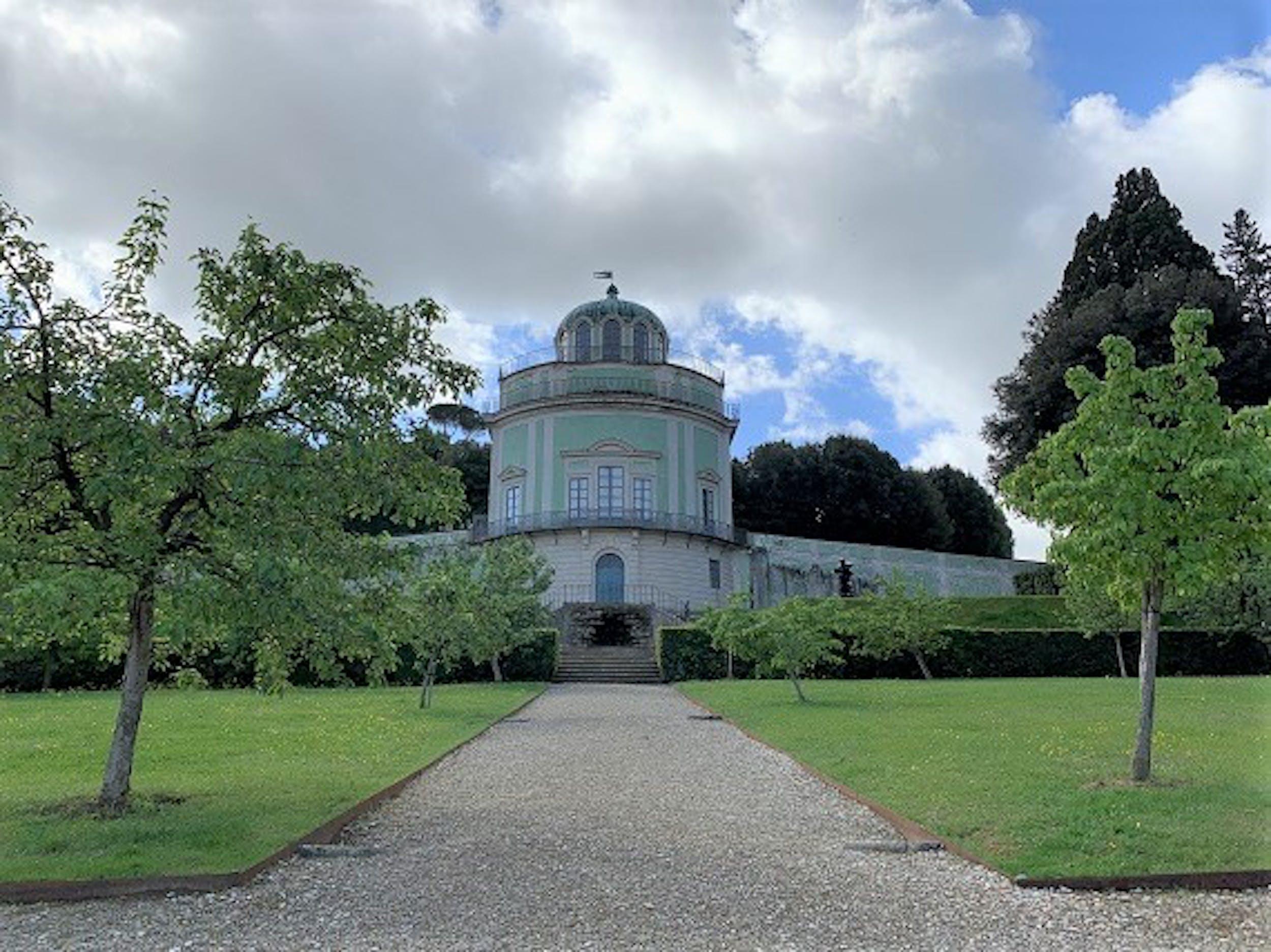 """L'""""Aquarium"""". Giardino della Botanica superiore"""