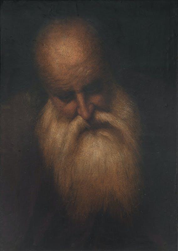 Testa di uomo anziano, Camillo Boccacino