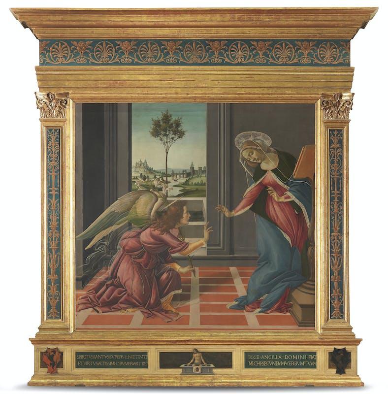 Annunciazione di Cestello, Botticelli