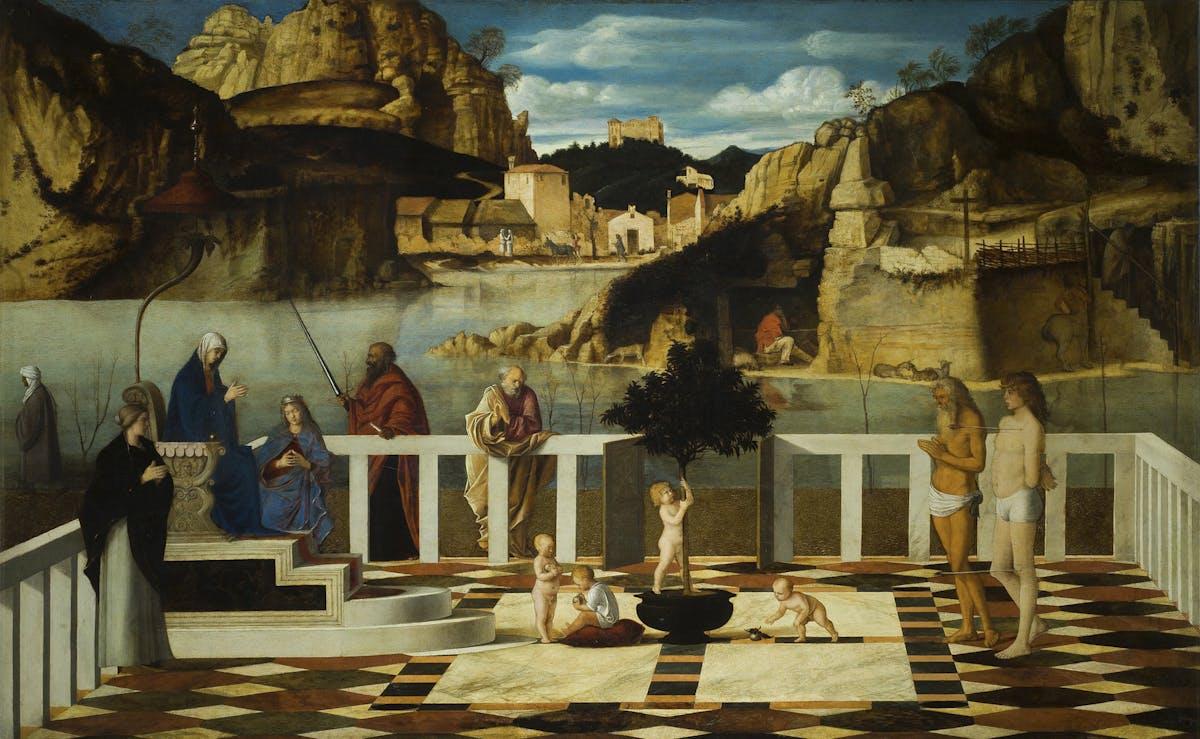 Allegoria Sacra, Giovanni Bellini