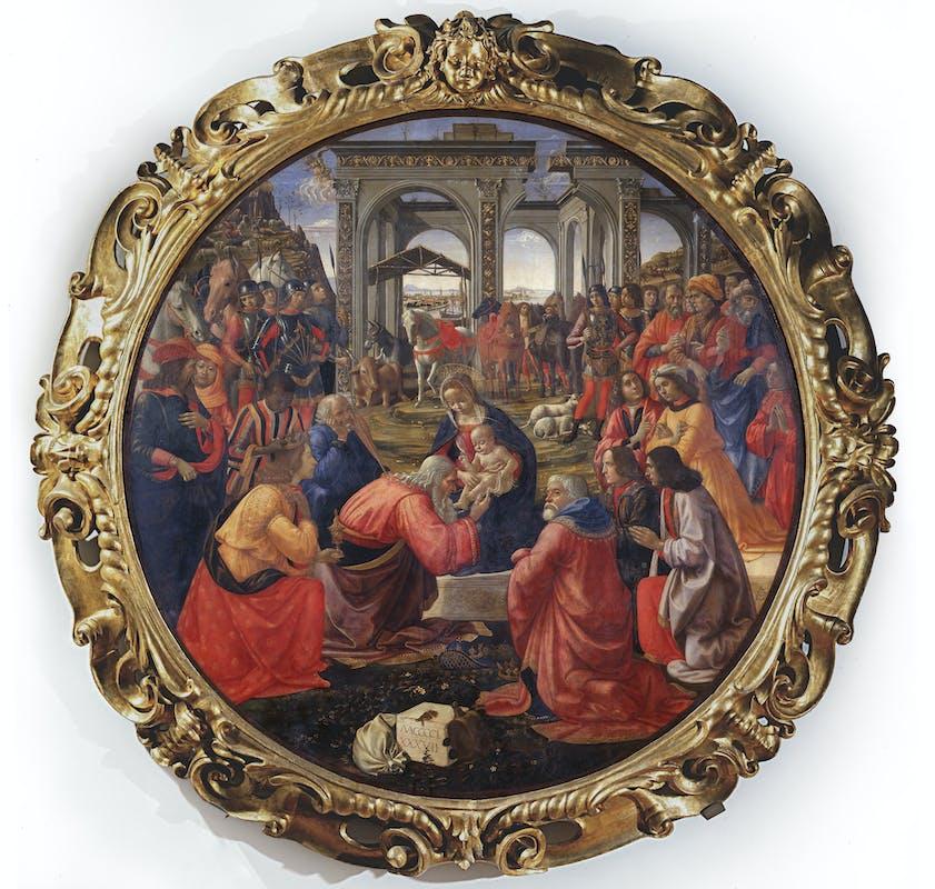 Adorazione dei Magi, Domenico Ghirlandaio