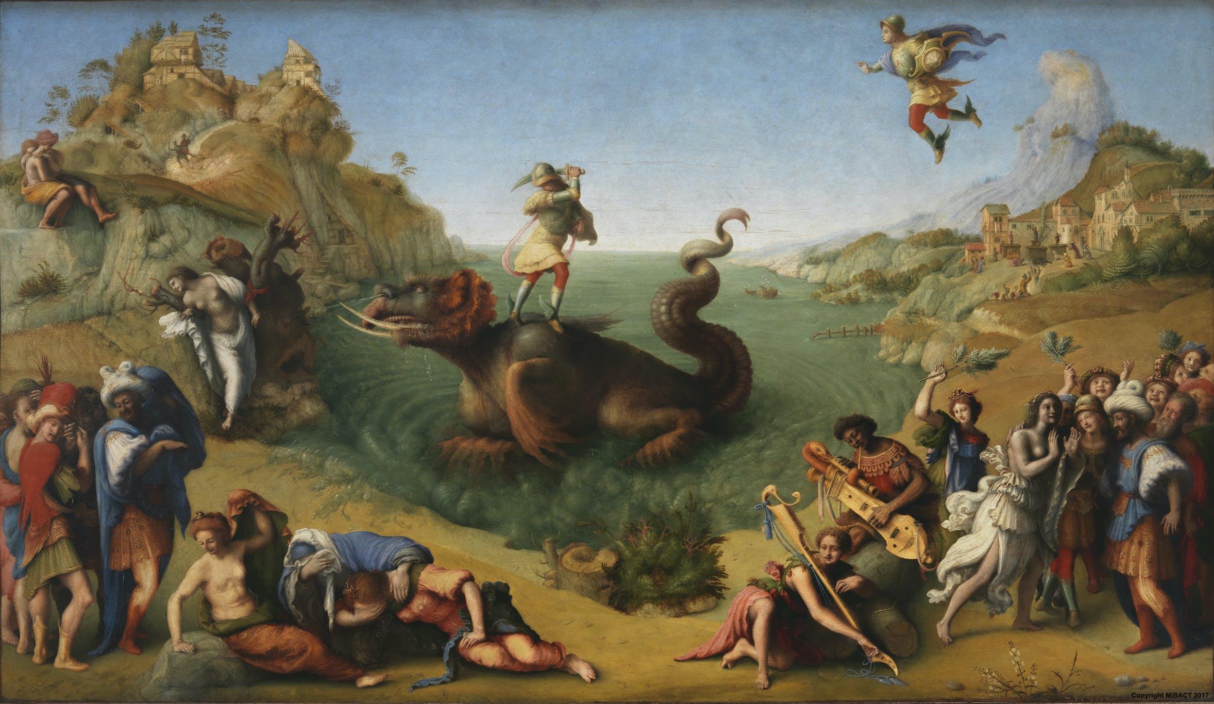 Perseo libera Andromeda di Piero di Cosimo | Opere | Le Gallerie degli  Uffizi