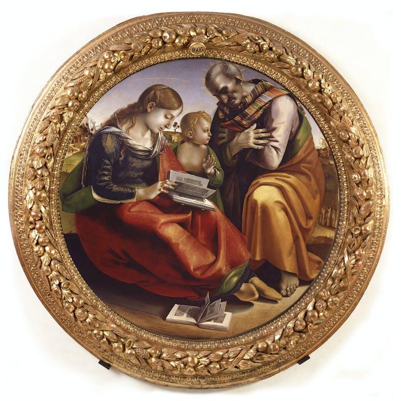 Sacra Famiglia, Luca Signorelli
