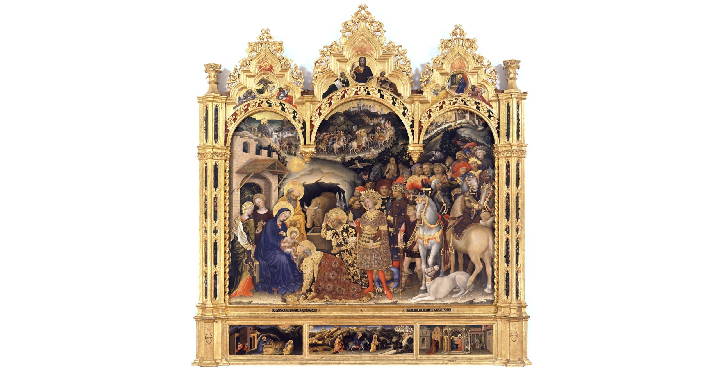 Gentile da Fabriano, Adorazione dei Magi I Gentile da Fabriano, Adoration of the Magi