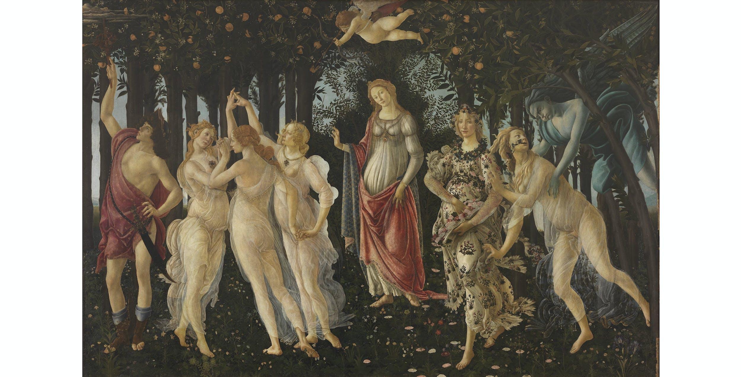 Sandro Botticelli, Primavera I Sandro Botticelli, Spring