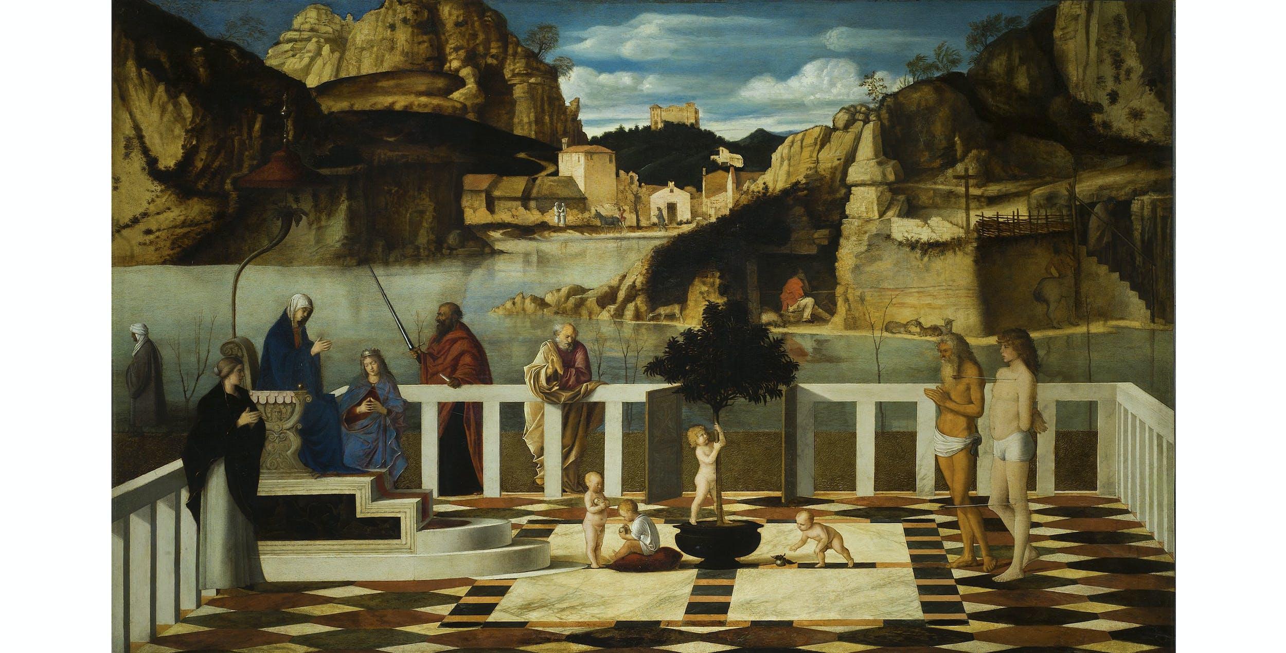 Giovanni Bellini, Allegoria Sacra I Giovanni Bellini, Holy Allegory