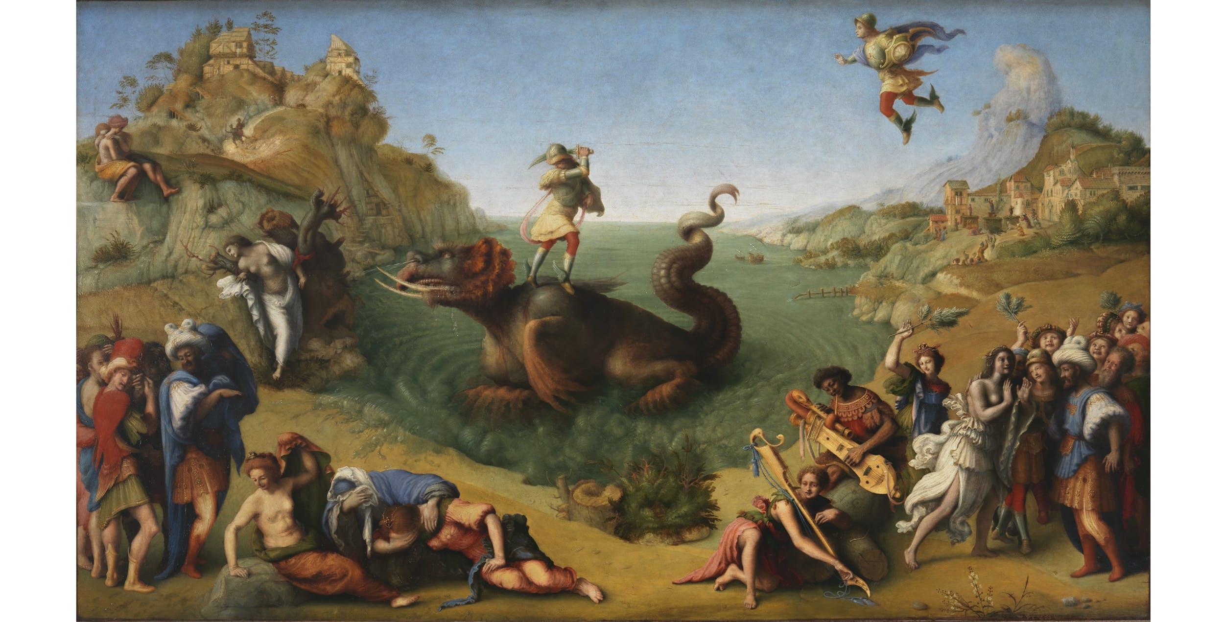 Piero di Cosimo, Perseo libera Andromeda I Piero di Cosimo, Perseo libera Andromeda