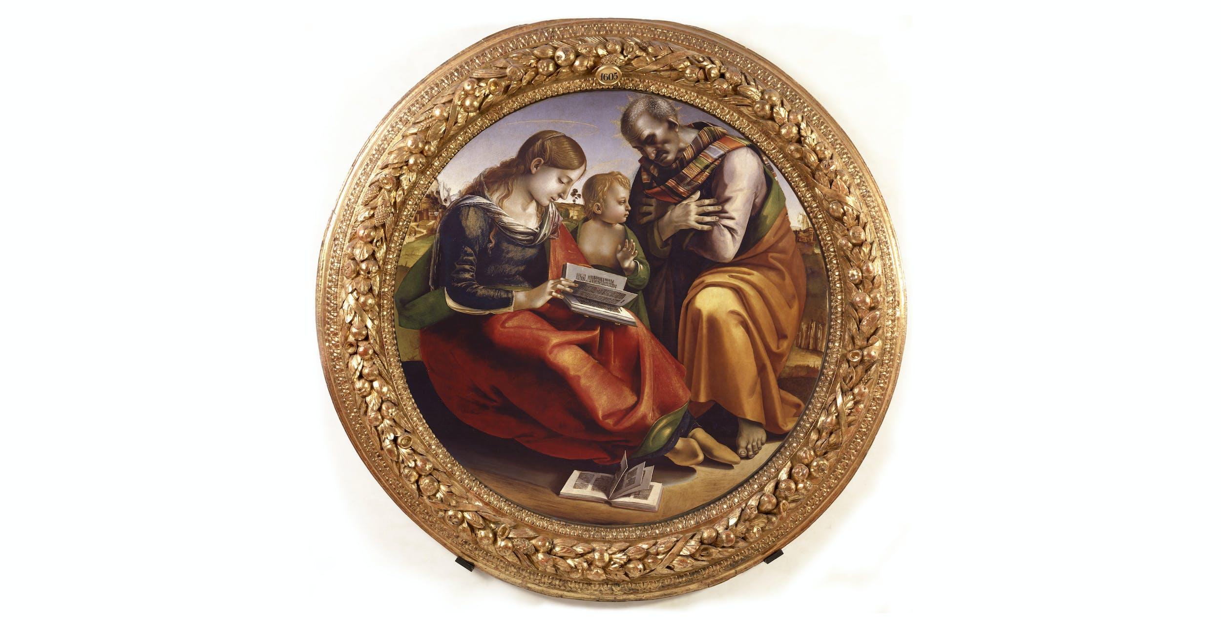 Luca Signorelli, Sacra Famiglia I Luca Signorelli, Holy Family