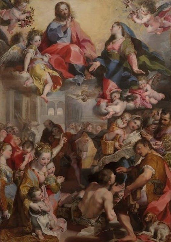 La madonna del Popolo di Federico Barocci