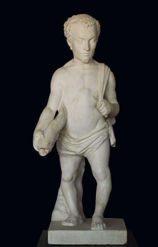 Vario Cioli (1529-1599) Nano Barbino 1564-1566 ca. marmo Giardino di Boboli, Gallerie degli Uffizi, Firenze