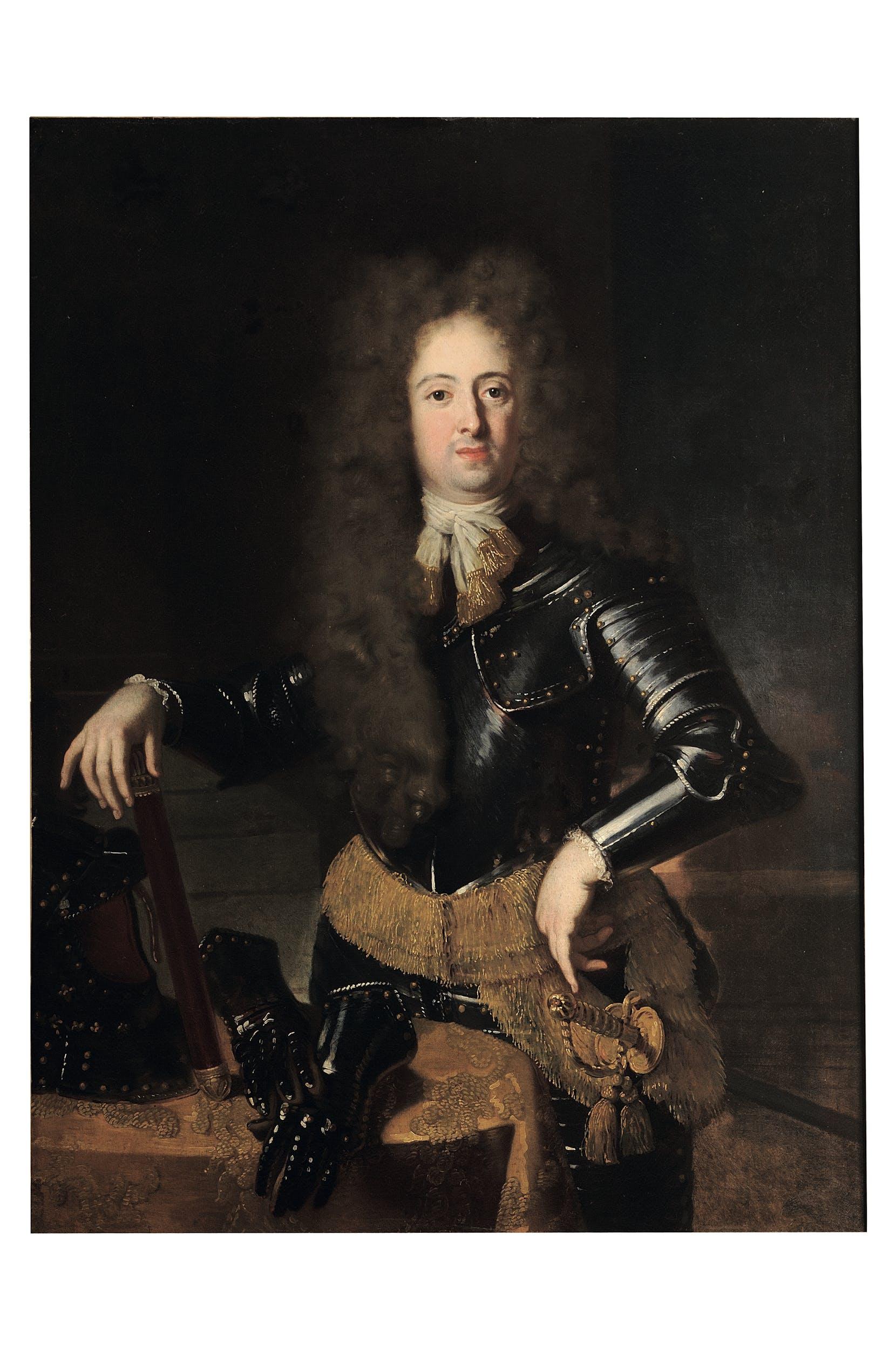 Niccolò Cassana (1659-1713) Ritratto del gran principe Ferdinando de' Medici (1663-1713) 1691 olio su tela Galleria Palatina, Gallerie degli Uffizi, Firenze