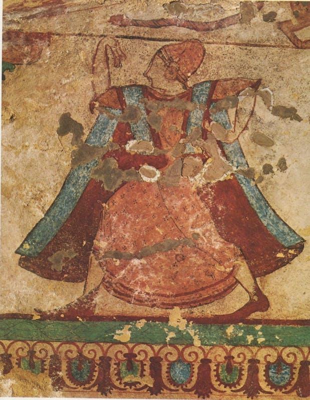 Tarquinia, tomba delle leonesse