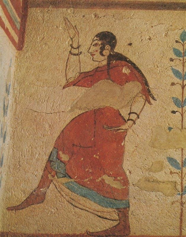 Tarquinia, tomba dei giocolieri
