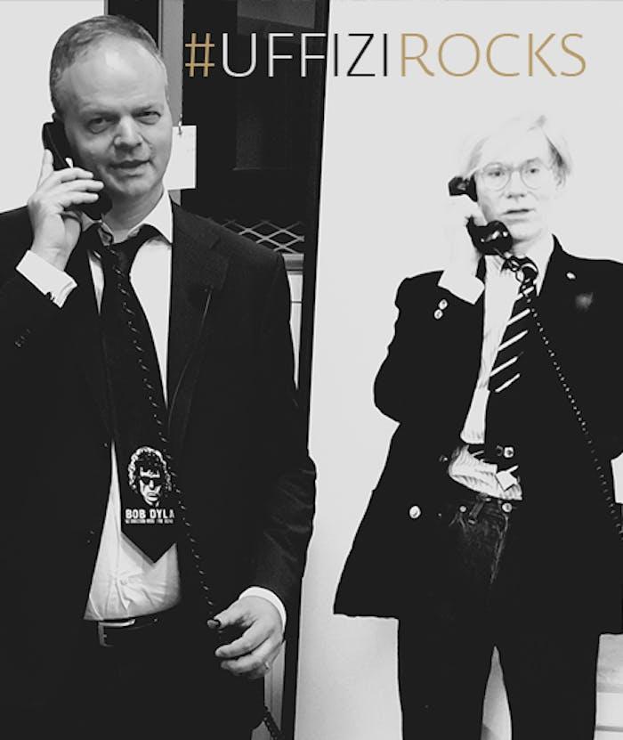 Il Direttore Eike Schmidt invita il popolo del rock agli Uffizi