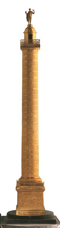 Fig. 20 Gioacchino Belli (Roma, 1756-1822) Colonna Traiana 1819 bronzo Galleria d'Arte Moderna di Palazzo Pitti, Gallerie degli Uffizi, Firenze | Fig. 20 Gioacchino Belli (Roma, 1756-1822) Trajan's Column 1819 bronze Galleria d'Arte Moderna, Gallerie degli Uffizi, Florence