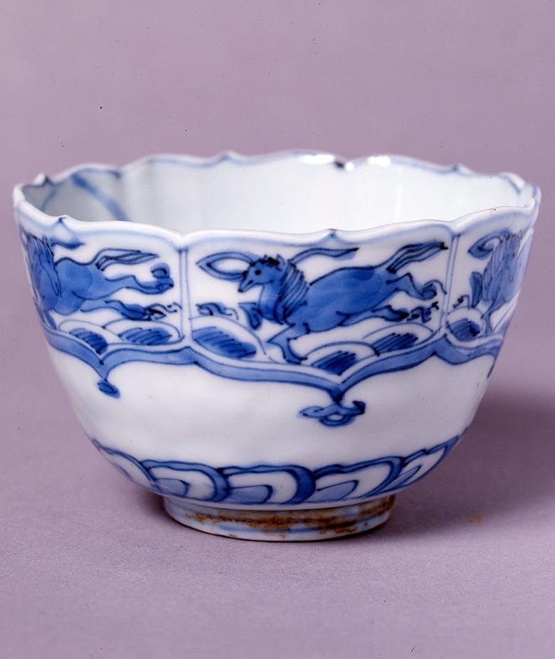 Tazzina di porcellana cinese