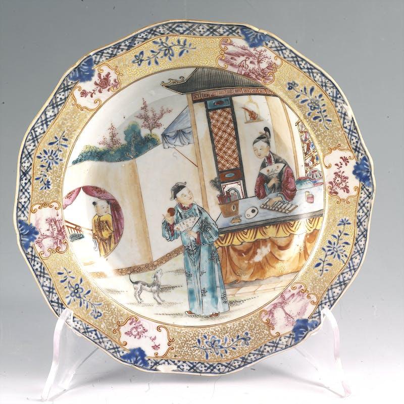 Porcellana cinese del Settecento