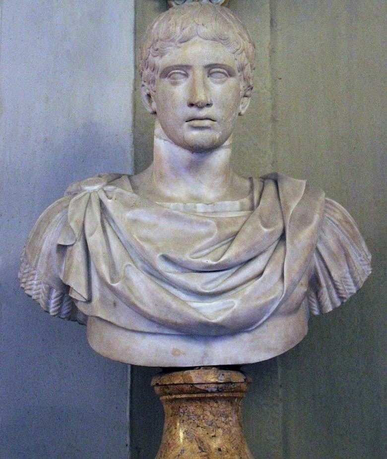 Bust with head of Doryphoros