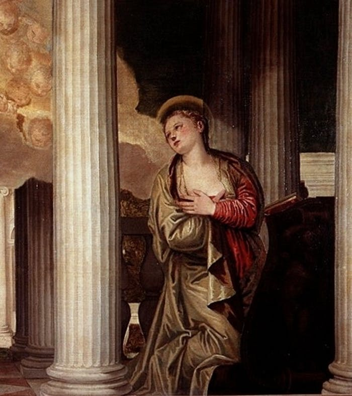 Paolo Veronese's Annunciations