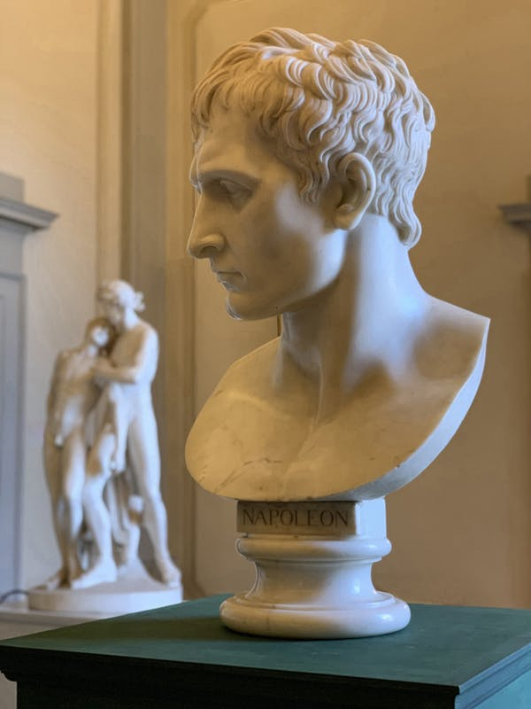 Busto colossale di Napoleone-copia antica da Antonio Canova