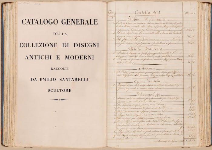 Online il catalogo della Collezione Santarelli