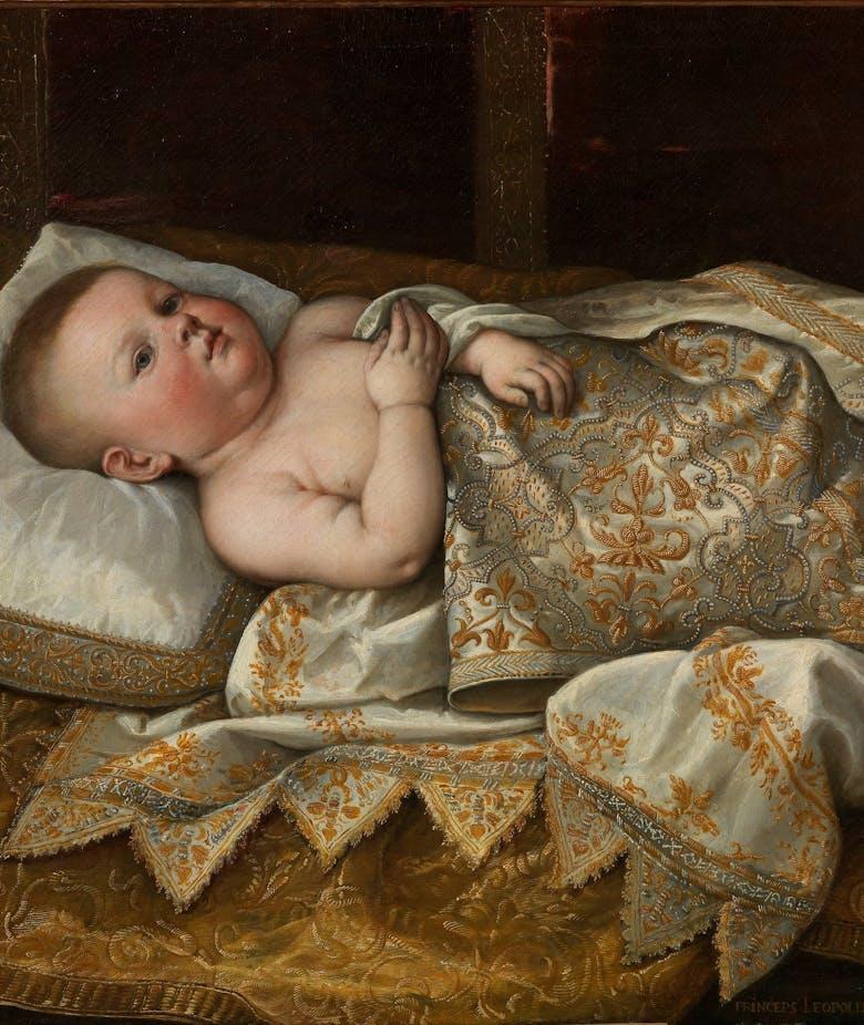 Ritratto di Leopoldo de' Medici in fasce