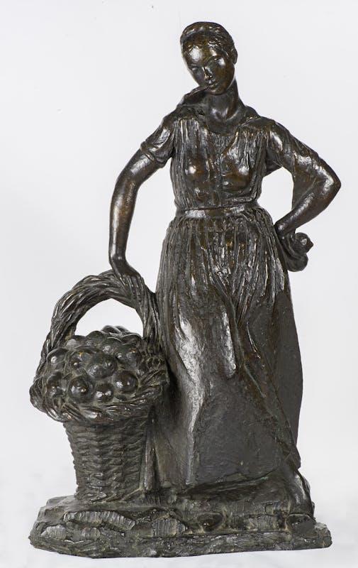 Libero Andreotti (  Pescia 1875 -  Firenze 1933 ), La venditrice di limoni, 1917