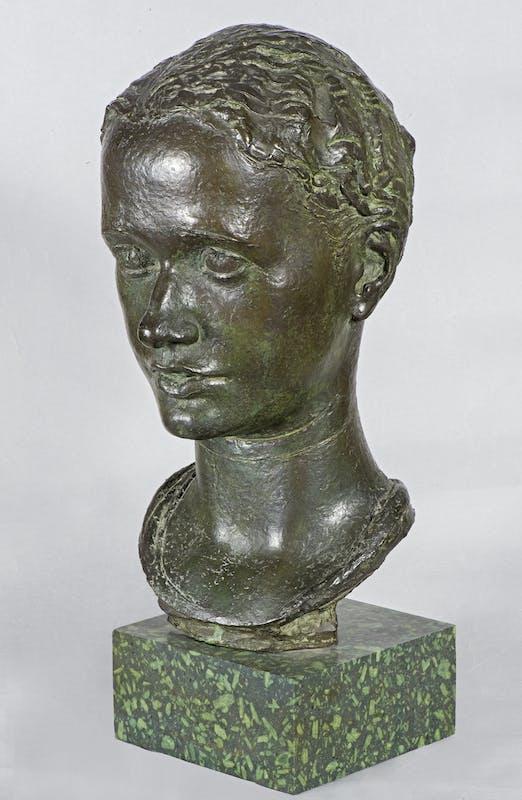 Libero Andreotti (  Pescia 1875 -  Firenze 1933 ), Ritratto di Paola Ojetti, 1932