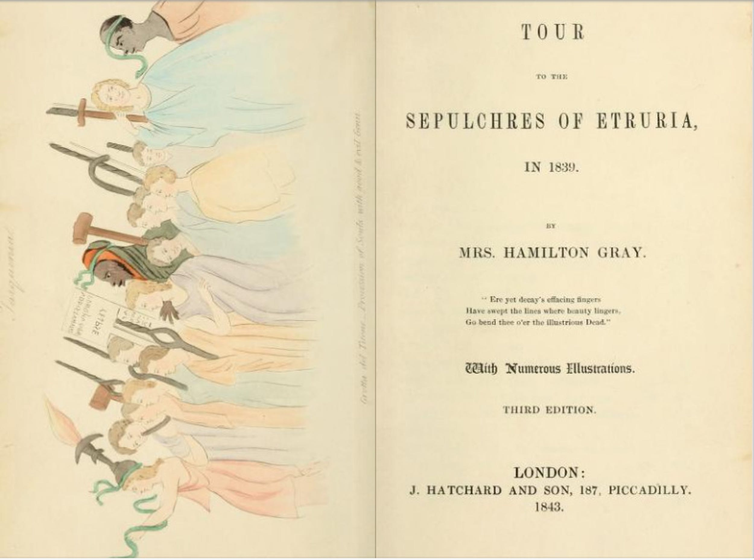Frontespizio libro E. Hamilton Gray