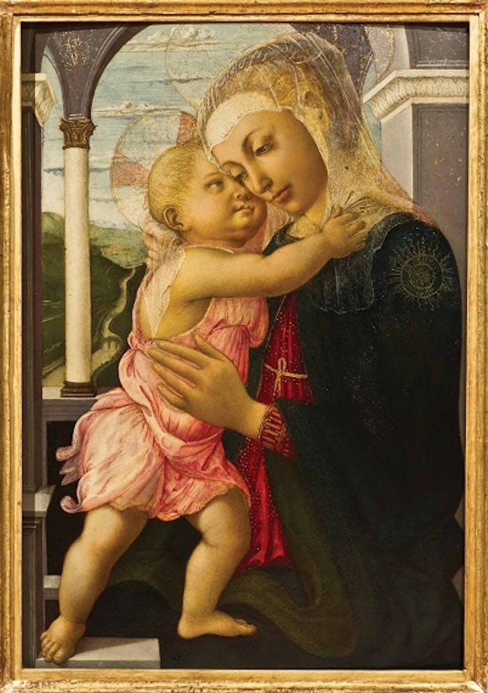 La Madonna della Loggia di Botticelli per la prima volta in Russia
