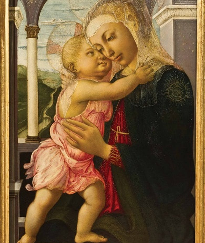 Botticelli's Madonna della Loggia goes to Russia for the first time