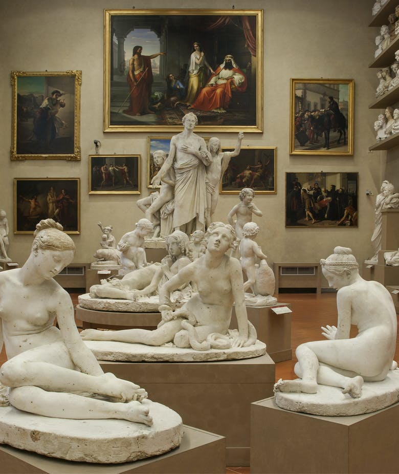 4 September 2019: afternoon closing of the Accademia Gallery's plaster cast room