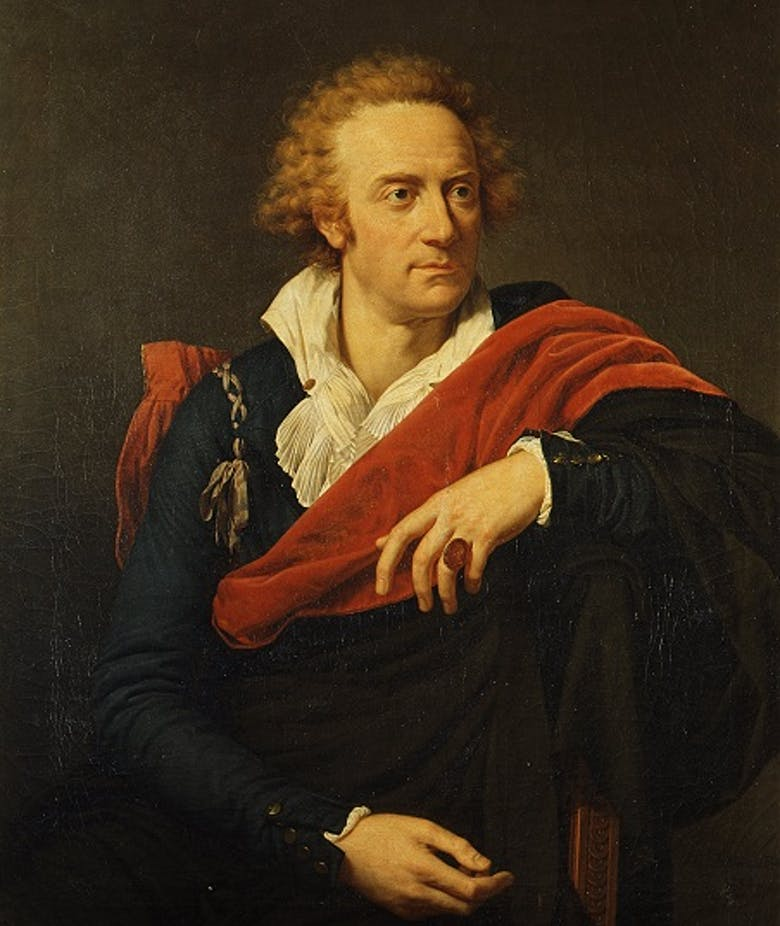 Ritratto di Vittorio Alfieri