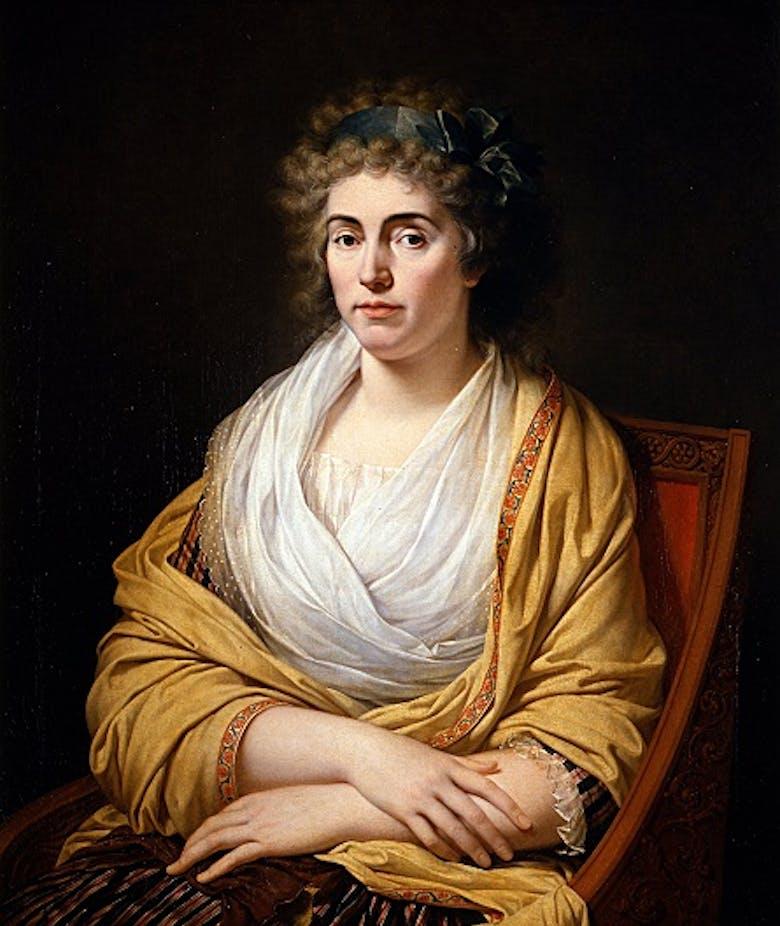 Ritratto di Luisa Stolberg, contessa d'Albany