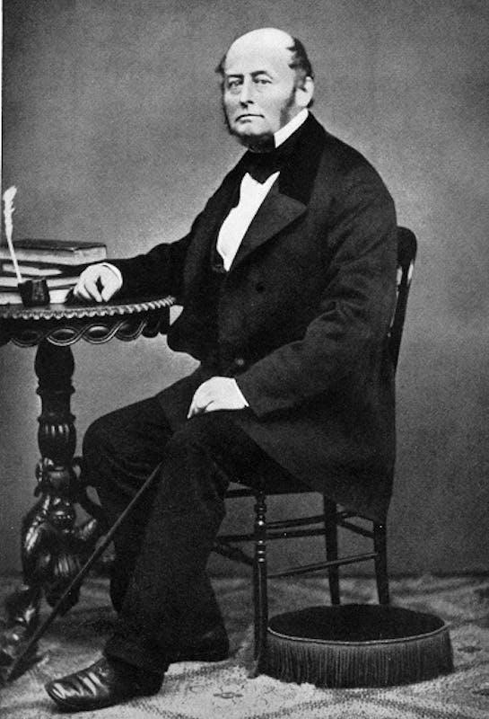 Fotografia di J. J. Bachofen, intorno al 1870, Atelier Chiappini & Cie., Basilea