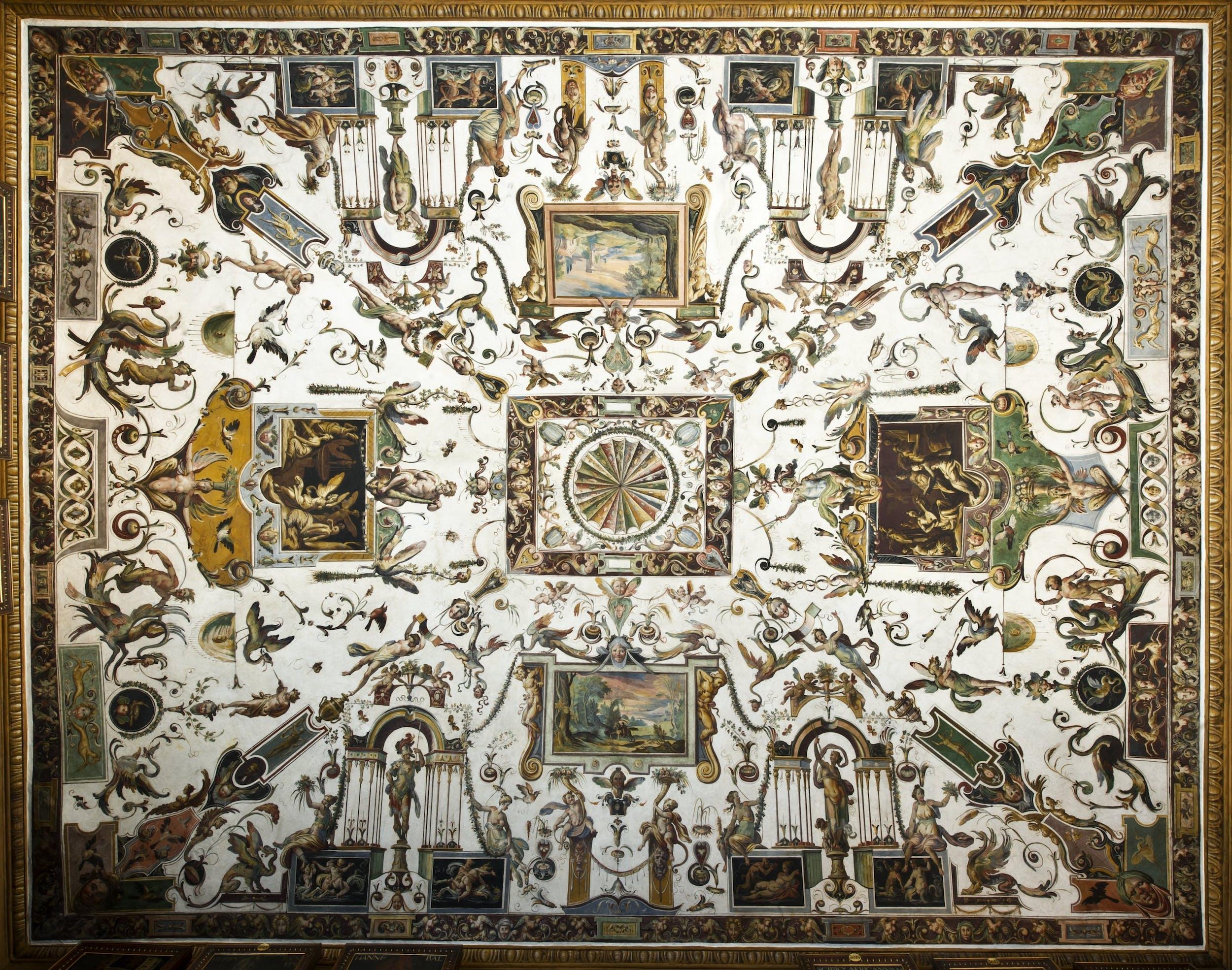 Uffizi, Grottesche
