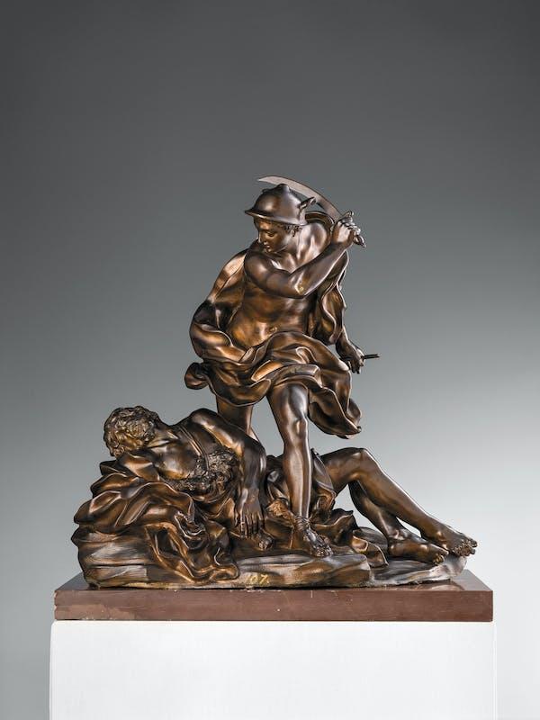 Giovan Battista Foggini Mercurio e Argo 1695-1700 circa bronzo patinato Museo Nazionale del Bargello, Firenze