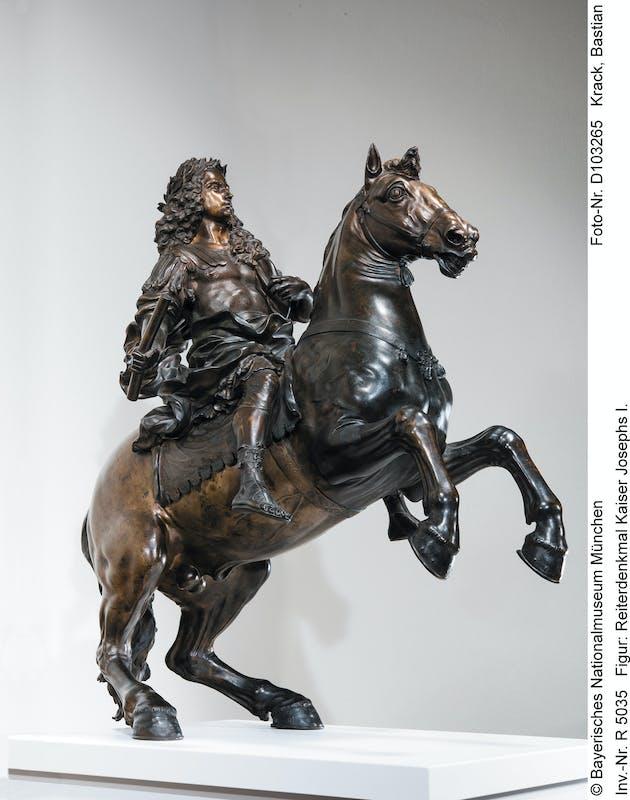Giovan Battista Foggini Monumento all'Imperatore Giuseppe I, Schiavo 'Moro' e Schiavo 'Tartaro' 1706 circa bronzo patinato Bayerisches Nationalmuseum, München