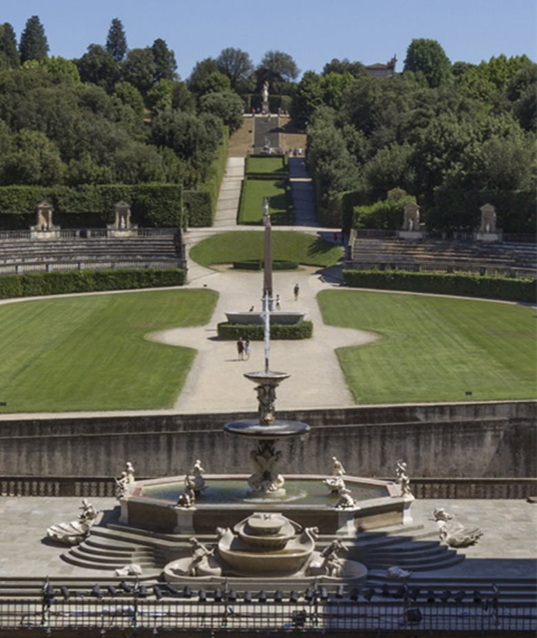 Boboli Gardens. Rules of Conduct