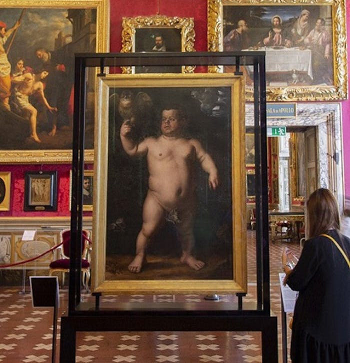 Bronzino's Dwarf Morgante returns to the Pitti Palace