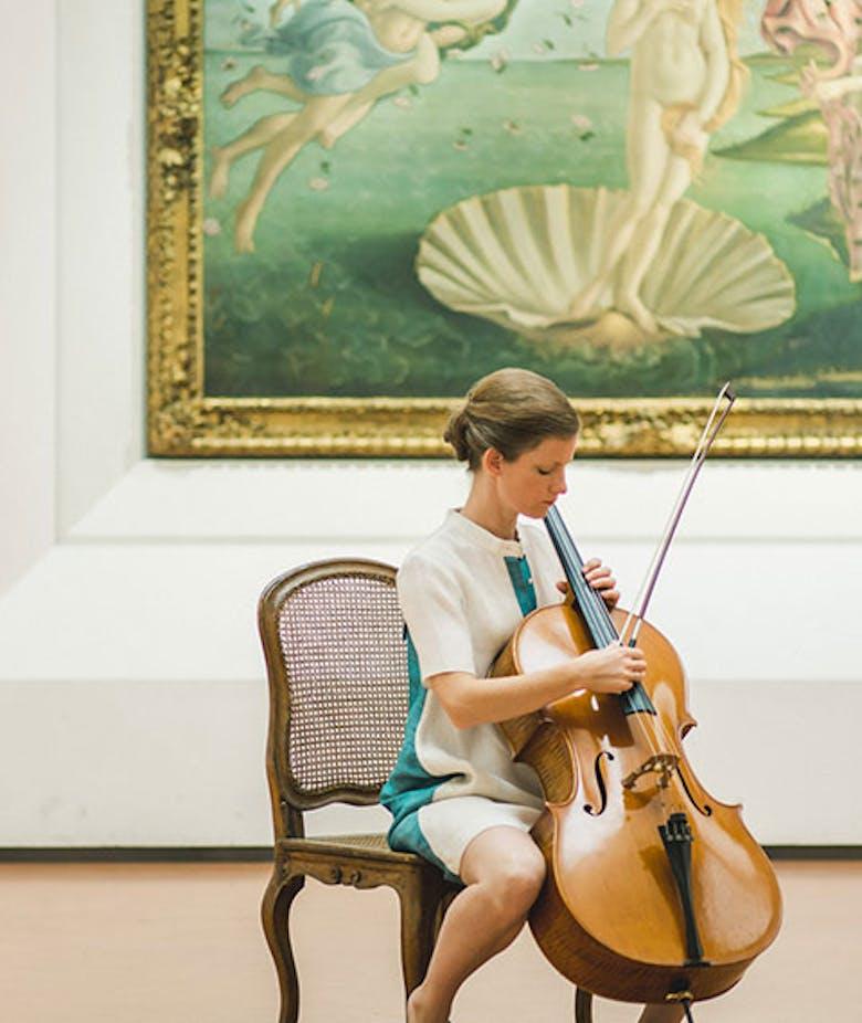 Concerto per violoncello e voce di Naomi Berrill