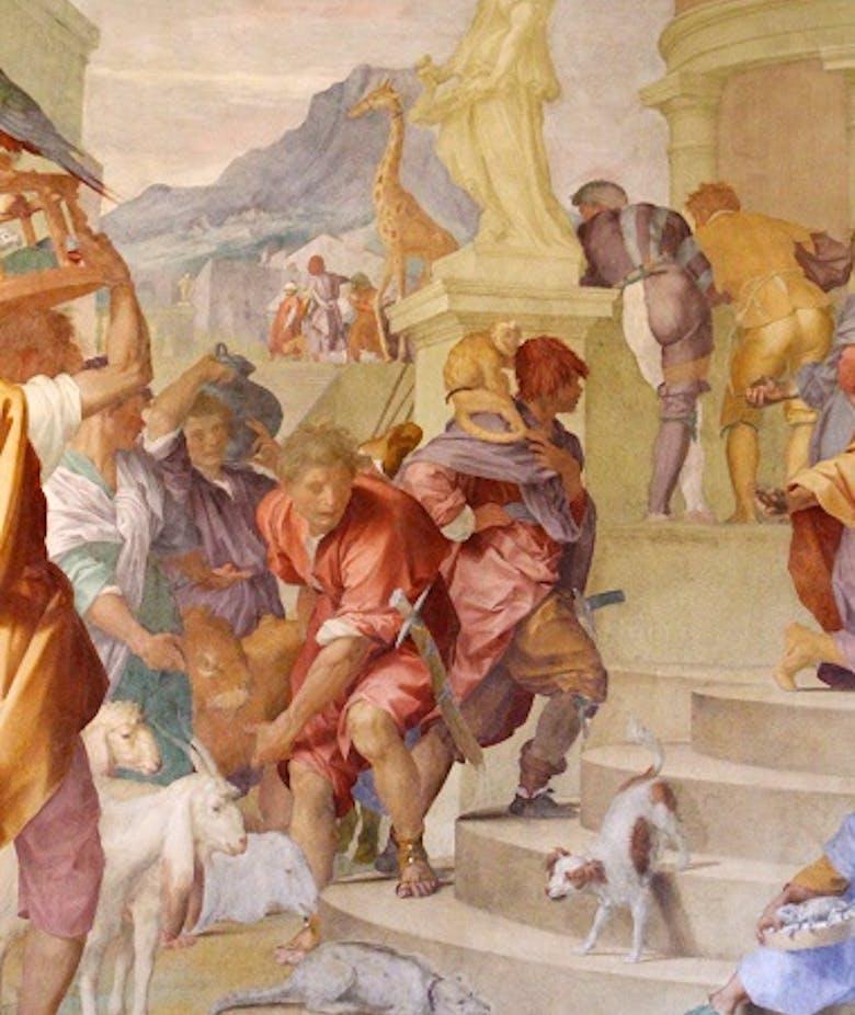 """Prima e dopo il """"contatto.  L'iconografia zoologica del Rinascimento italiano al tempo della scoperta dell'America"""